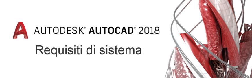 autocad 2018 requisiti
