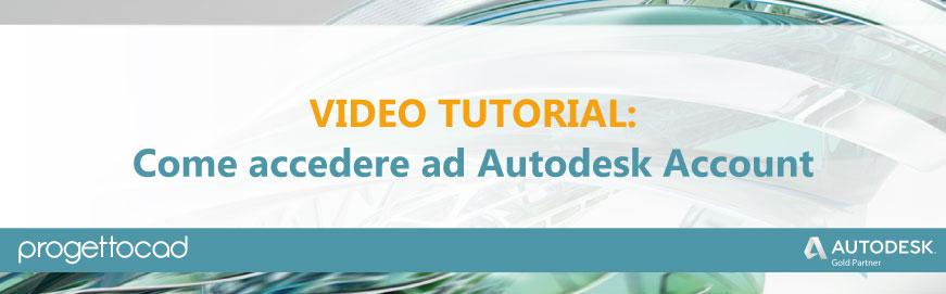 accedere autodesk account