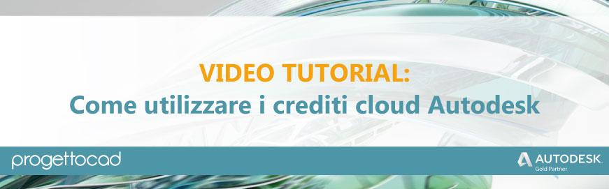 crediti cloud autodesk